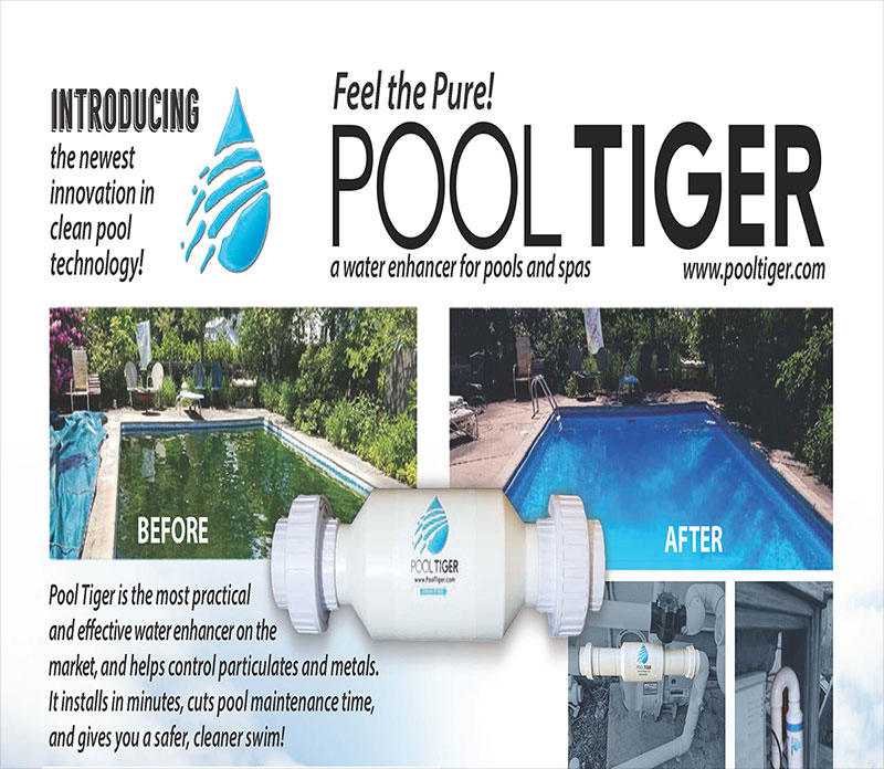 Introcucing the newest innovation in clean pool technology